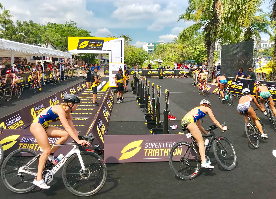 Reinventing the wheel: Super League Triathlon - Flat Spoke ...